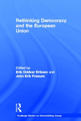Rethinking Democracy and the European Union book cover