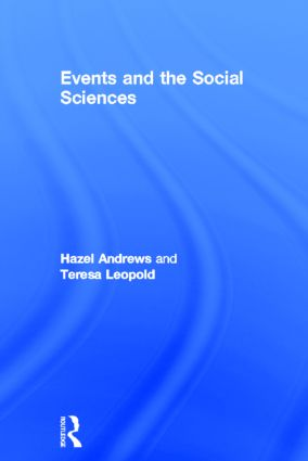 Events and The Social Sciences (Hardback) book cover