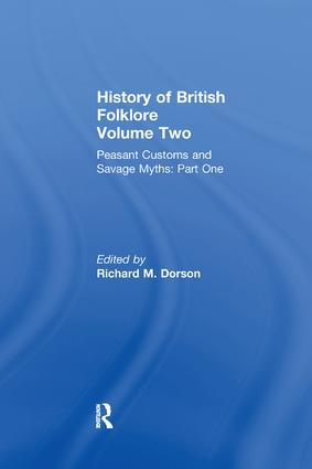 History of British Folklore: Volume 2, 1st Edition (Paperback) book cover