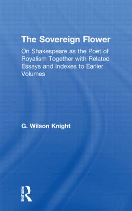 Sovereign Flower - Wilson Kni: 1st Edition (Paperback) book cover