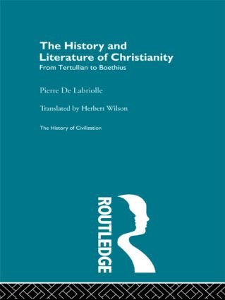 The History and Literature of Christianity (Paperback) book cover