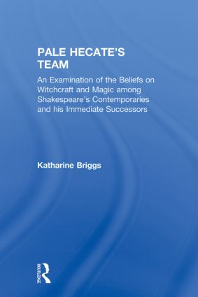 Pale Hecates Team (Katharine Briggs Collected Works Vol 2) book cover