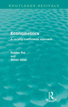 Econometrics (Routledge Revivals): A Varying Coefficents Approach book cover