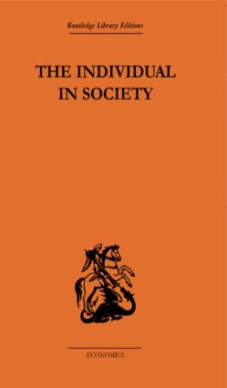 The Individual in Society: Papers on Adam Smith: 1st Edition (Paperback) book cover