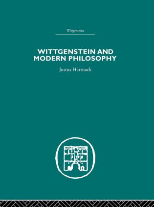 Wittgenstein and Modern Philosophy: 1st Edition (Paperback) book cover