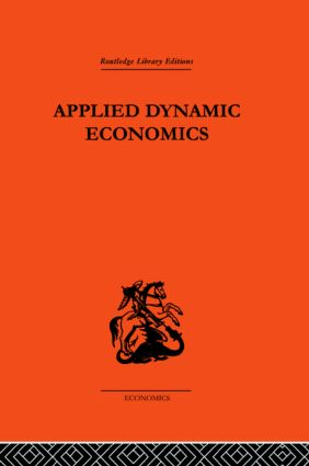 Applied Dynamic Economics: 1st Edition (Paperback) book cover