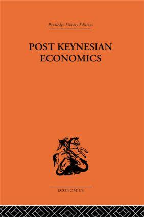 Post-Keynesian Economics