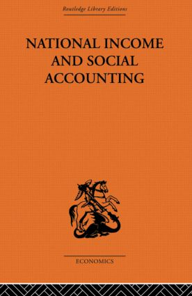 National Income and Social Accounting: 1st Edition (Paperback) book cover