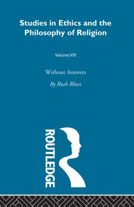Without Answers Vol 8: 1st Edition (e-Book) book cover