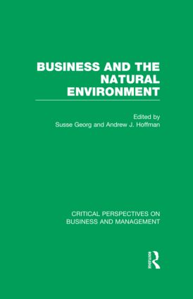 Business and the Natural Environment (Hardback) book cover