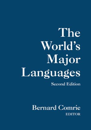 The World's Major Languages: 2nd Edition (Paperback) book cover