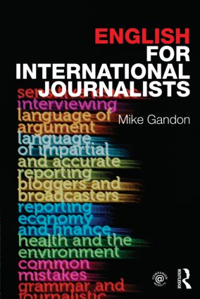 English for International Journalists (Paperback) book cover