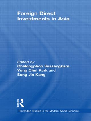 Foreign Direct Investments in Asia (Hardback) book cover