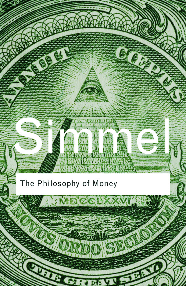 The Philosophy of Money (Paperback) book cover