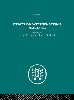 Essays on Wittgenstein's Tractatus: 1st Edition (Paperback) book cover
