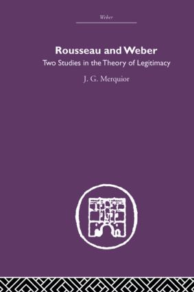 Rousseau and Weber (Paperback) book cover