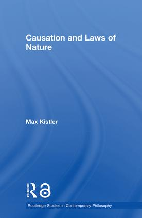 Causation and Laws of Nature (Paperback) book cover