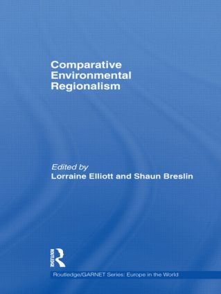 Comparative Environmental Regionalism (Hardback) book cover