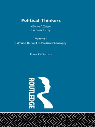 Edmund Burke: 1st Edition (Paperback) book cover