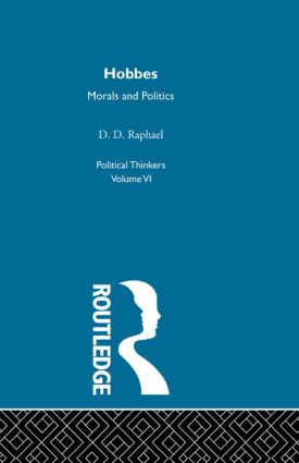 Hobbes: Morals and Politics (Paperback) book cover