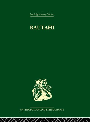 Rautahi: The Maoris of New Zealand: 1st Edition (Paperback) book cover