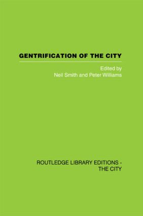 Gentrification of the City (Paperback) book cover