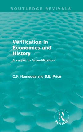 Verification in Economics and History: A Sequel to 'Scientifization' (e-Book) book cover
