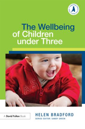 The Wellbeing of Children under Three (Paperback) book cover