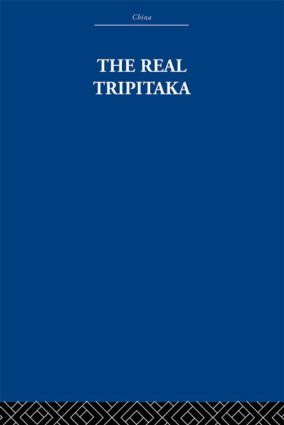The Real Tripitaka: And Other Pieces, 1st Edition (Paperback) book cover