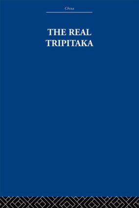 The Real Tripitaka
