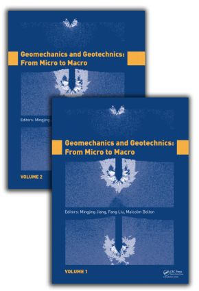 Geomechanics and Geotechnics: From Micro to Macro, Two Volume Set: 1st Edition (Hardback) book cover