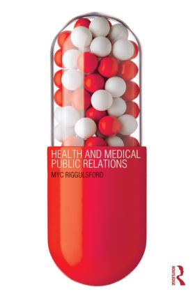 Health and Medical Public Relations (Paperback) book cover