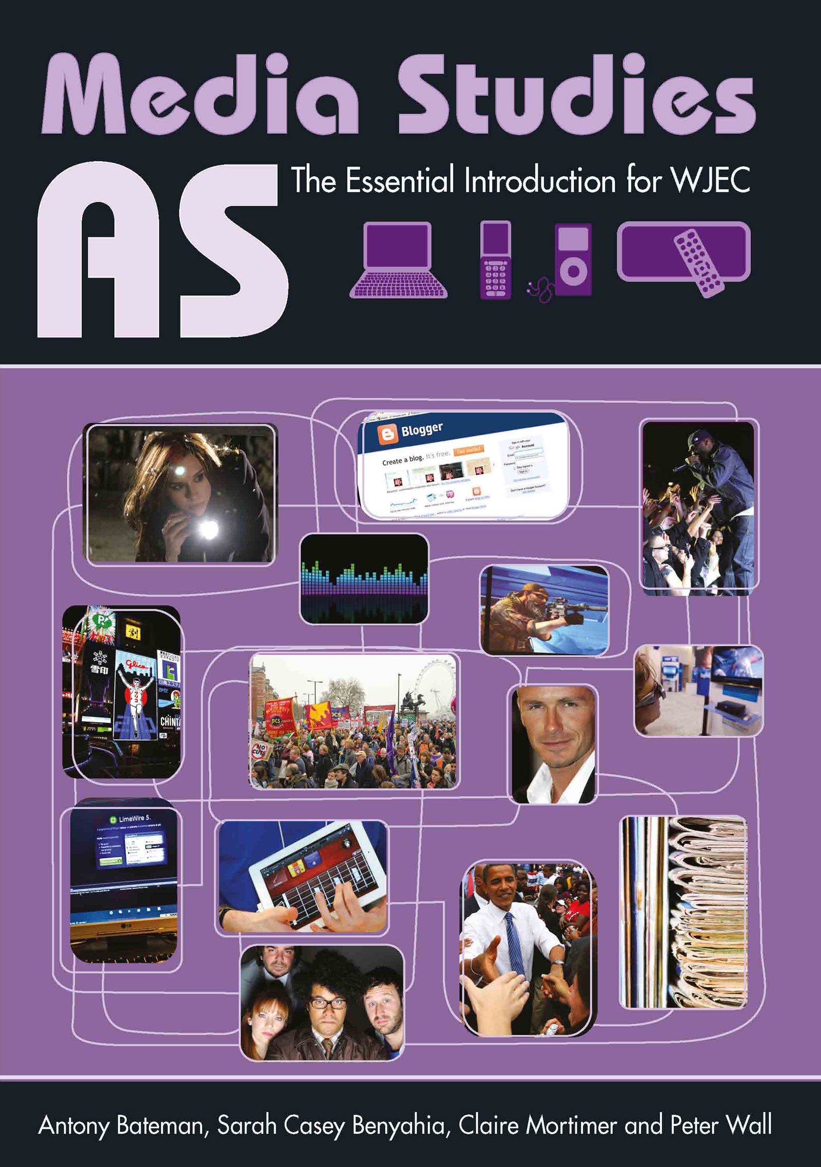 AS Media Studies: The Essential Introduction for WJEC (Paperback) book cover