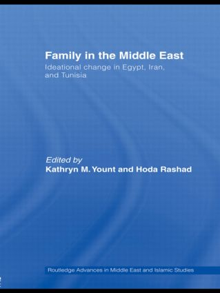 Family in the Middle East: Ideational Change in Egypt, Iran and Tunisia (Paperback) book cover