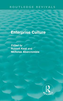 Enterprise Culture (Hardback) book cover