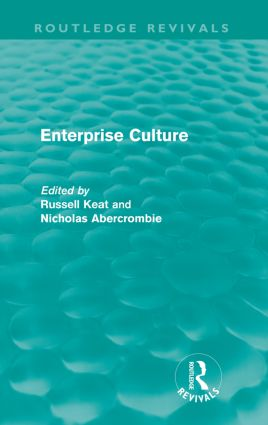 Enterprise Culture (Routledge Revivals) (Paperback) book cover