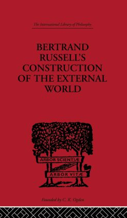 Bertrand Russell's Construction of the External World (Paperback) book cover