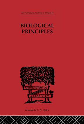 Biological Principles: A Critical Study book cover