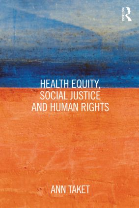 Health Equity, Social Justice and Human Rights (Paperback) book cover