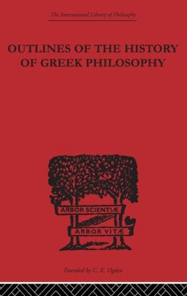 Outlines of the History of Greek Philosophy: 1st Edition (Paperback) book cover