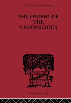 Philosophy of the Unconscious: 1st Edition (Paperback) book cover