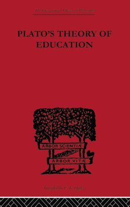 Plato's Theory of Education (Paperback) book cover