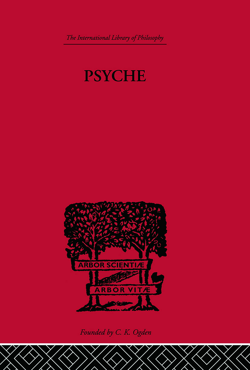 Psyche: The cult of Souls and the Belief in Immortality among the Greeks book cover