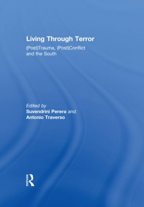 Living Through Terror (Hardback) book cover
