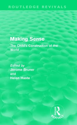 Making Sense (Routledge Revivals): The Child's Construction of the World (Paperback) book cover