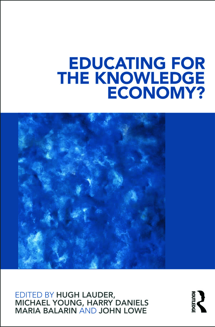 Educating for the Knowledge Economy?: Critical Perspectives (Paperback) book cover