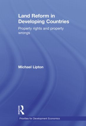 Land Reform in Developing Countries: Property Rights and Property Wrongs (Paperback) book cover