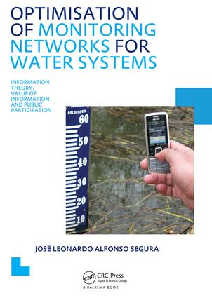 Optimisation of Monitoring Networks for Water Systems: 1st Edition (Paperback) book cover