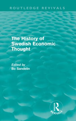 The History of Swedish Economic Thought (Routledge Revivals) (Paperback) book cover