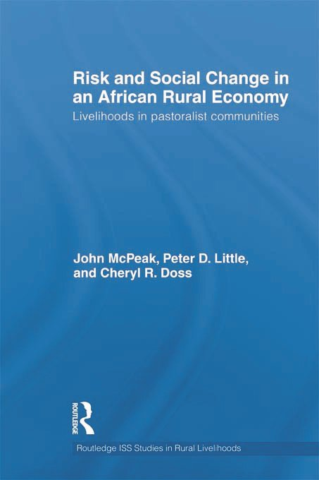 Risk and Social Change in an African Rural Economy: Livelihoods in Pastoralist Communities (Hardback) book cover